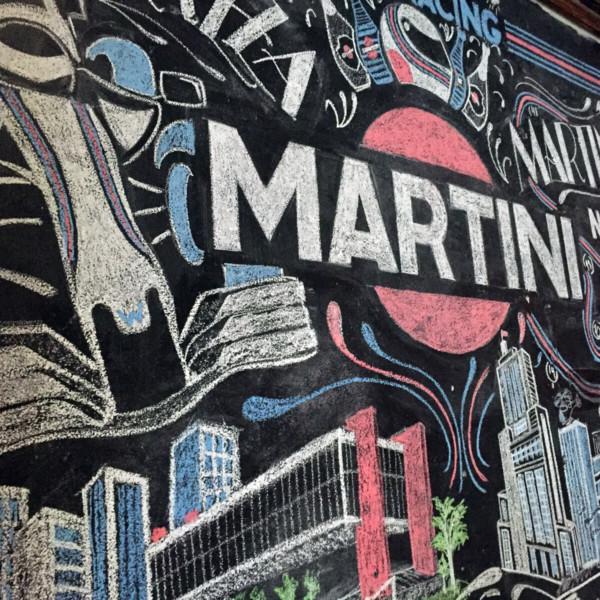 Williams Martini Racing Chalkboard