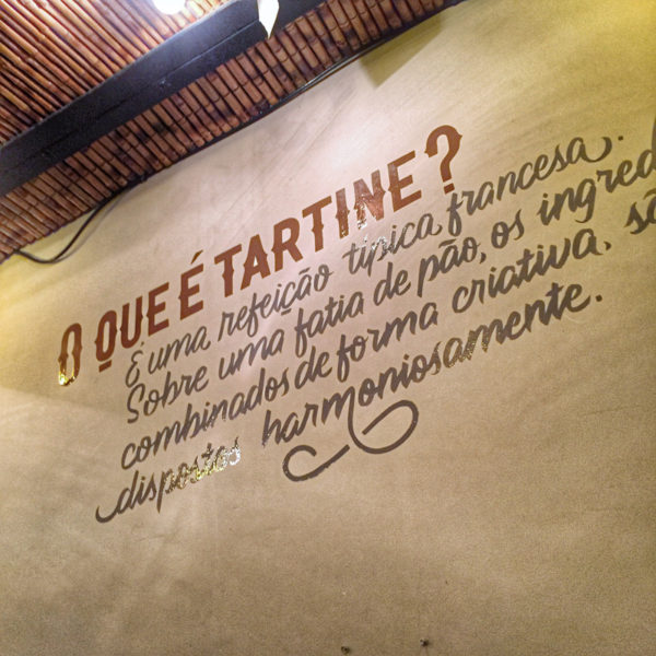 Bou Tartineria Letterings
