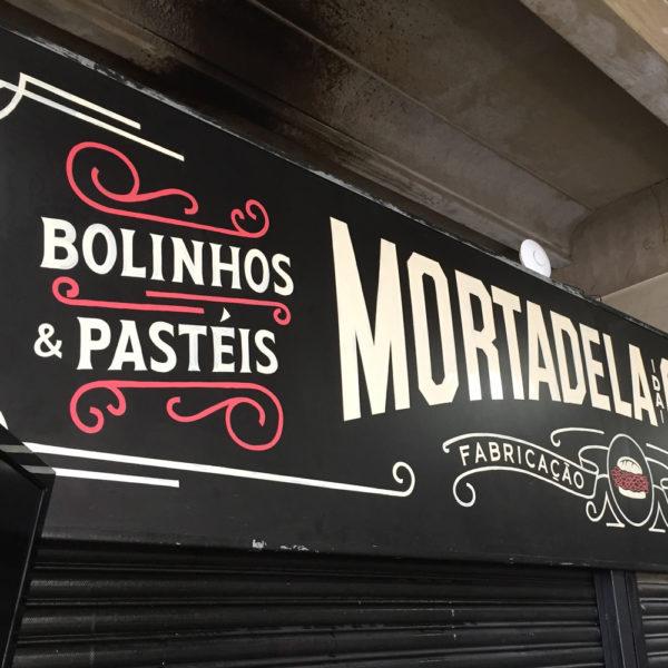 Fachada Mortadela da Cidade – Mercado Municipal de São Paulo