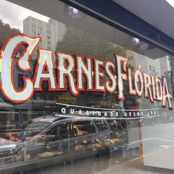 Vitrine Carnes Flórida
